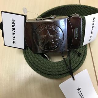 コンバース(CONVERSE)のCONVERSE GIベルト 日本製130cm ダークグリーン(ベルト)