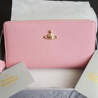 ヴィヴィアンウエストウッド(Vivienne Westwood)の【新品】Vivienne Westwood 長財布 ピンク(財布)