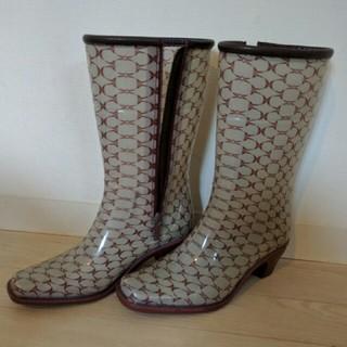 エムケーミッシェルクラン(MK MICHEL KLEIN)の長靴 サイズS(レインブーツ/長靴)