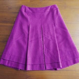 アールユー(RU)のru ピンク パープル系 スカート(ひざ丈スカート)