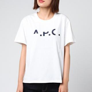 アーペーセー(A.P.C)の新品 A.P.C. アーペーセー ロゴ Tシャツ(Tシャツ/カットソー(半袖/袖なし))