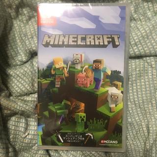 ニンテンドースイッチ(Nintendo Switch)の未開封 マインクラフト Minecraft ニンテンドースイッチ用ソフト(家庭用ゲームソフト)
