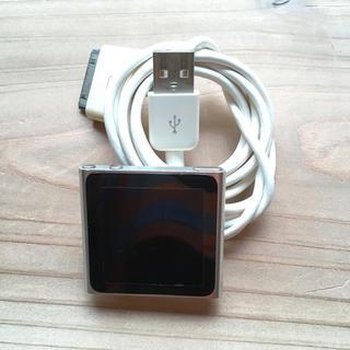 アップル(Apple)のiPod nano 第6世代(ポータブルプレーヤー)