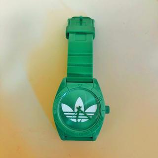 アディダス(adidas)のadidas 時計 グリーン(腕時計(アナログ))