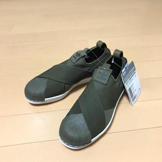 アディダス(adidas)の【新品】adidas originals スーパースター スリッポン(スニーカー)