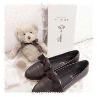 アマベル(Amavel)のmayla classic リボンローファー(ローファー/革靴)