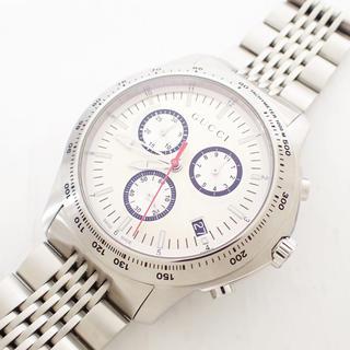 グッチ(Gucci)の【未使用】グッチ メンズ 腕時計 Gタイムレス クロノグラフ W0146 (腕時計(アナログ))