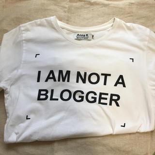ドゥーズィエムクラス(DEUXIEME CLASSE)のAnna K ロゴT(Tシャツ(半袖/袖なし))