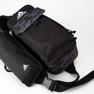 アディダス(adidas)のももクロ ボディバック ポシュレ ブラック(ボディーバッグ)