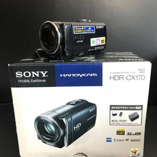 ソニー(SONY)のSONY HANDYCAM HDR-CX170 ブラック(ビデオカメラ)