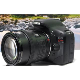 キヤノン(Canon)の入門最適⭐️届いてすぐ使える⭐️Canon Kiss X4 レンズキット(デジタル一眼)