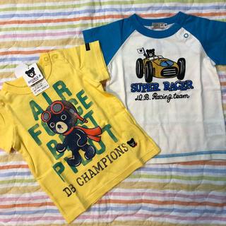 DOUBLE.B - ダブルビー Tシャツセット 80