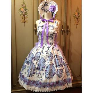 アリスアンドザパイレーツ(ALICE and the PIRATES)の☆新品☆Scent of Rapunzel JSKⅡ&ボンネット(ひざ丈ワンピース)
