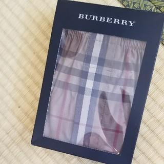 バーバリー(BURBERRY)のバーバリートランクス 新品未使用 ノバチェック シェードチェック 美品 L(トランクス)