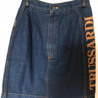 トラサルディ(Trussardi)のトラサルディ デニムスカート サイズ38(S)(ミニスカート)