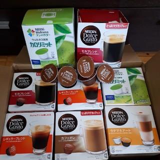 Nestle - ネスカフェ ドルチェグストカプセル 6箱とバラ25個