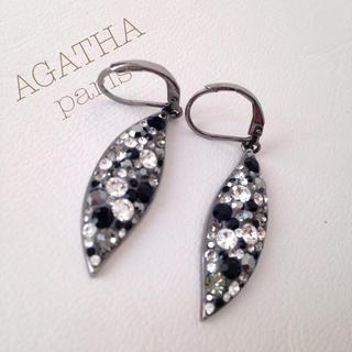 アガタ(AGATHA)の新品 ☆ AGATHA ☆ ピアス ☆ クリスタルガラス(ピアス)