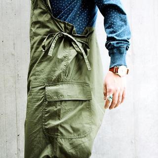 エンジニアードガーメンツ(Engineered Garments)の定価3万位 サイズL Monitaly モニタリー オーバーオール(サロペット/オーバーオール)