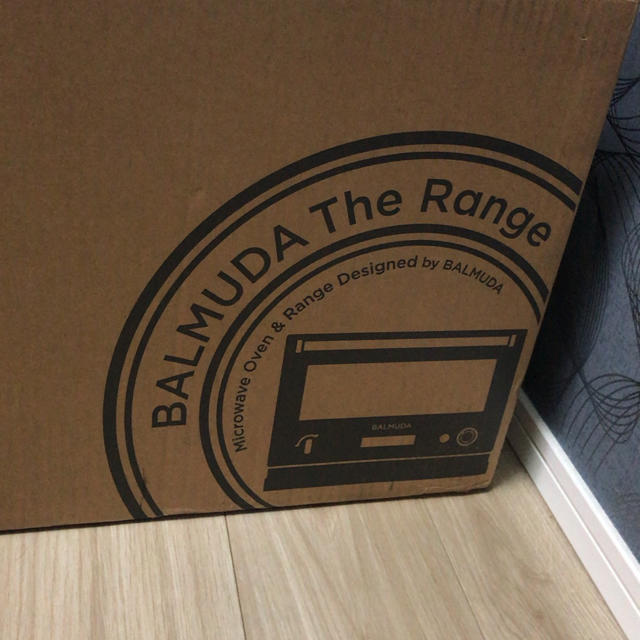 BALMUDA(バルミューダ)のBALMUDA The Range  バリユミューダ・ザ・レンジ スマホ/家電/カメラの調理家電(電子レンジ)の商品写真