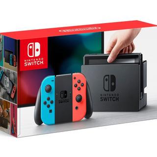 ニンテンドースイッチ(Nintendo Switch)のNintendo Switch 2個セット(家庭用ゲーム本体)
