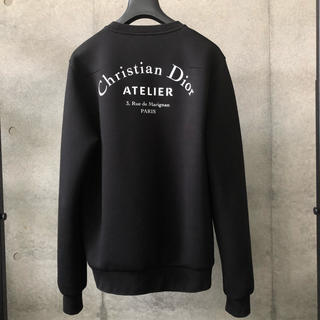 DIOR HOMME - DIOR HOMME アトリエ ロゴスウェット 確実正規品