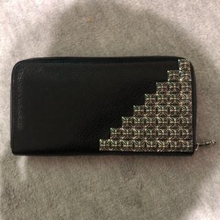 クロムハーツ(Chrome Hearts)のクロムハーツ  ゼロピラミッドスタッズ長財布 極美品(長財布)