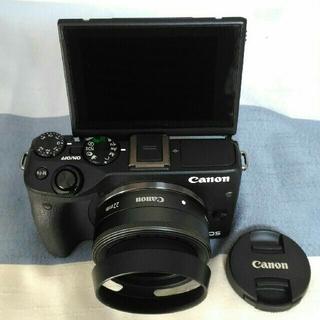 キヤノン(Canon)のLa -LA 様専用Canon EOS M3+レンズEF-M22mm1:2STM(ミラーレス一眼)