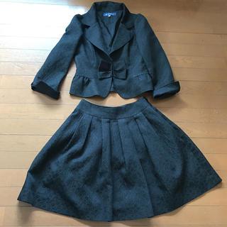 エムズグレイシー(M'S GRACY)の美品エムズグレイシーの可愛いセットアップスーツ サイズ38(スーツ)