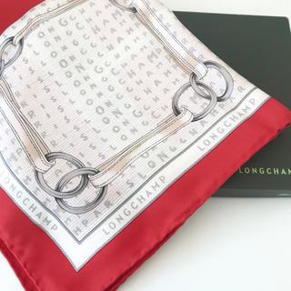 ロンシャン(LONGCHAMP)の新品☆LONGCHAMP ロンシャン スカーフ(バンダナ/スカーフ)