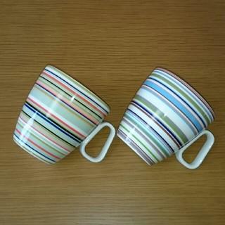 イッタラ(iittala)のもも様専用です。イッタラ オリゴ マグカップ ペア セット(グラス/カップ)