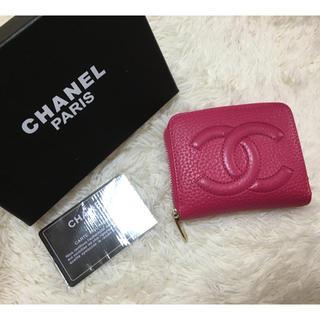 シャネル(CHANEL)のシャネル  小銭入れ  財布  ピンク(コインケース)