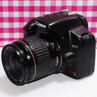 キヤノン(Canon)の⭐一瞬の感動を⭐Canon Kiss x2 レンズキット・付属品多数・即撮影可(デジタル一眼)