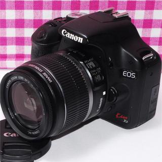キヤノン(Canon)の⭐たくさん思い出を作ろう⭐Canon kiss x3 レンズキット・付属品多数♪(デジタル一眼)
