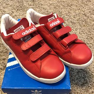 アディダス(adidas)の【すまいる様専用】adidas スタンスミス RED 24㎝(スニーカー)