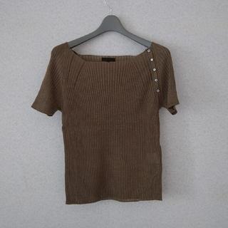 コムサデモード(COMME CA DU MODE)のコムサ・デ・モード : K.T 麻カットソー(カットソー(半袖/袖なし))