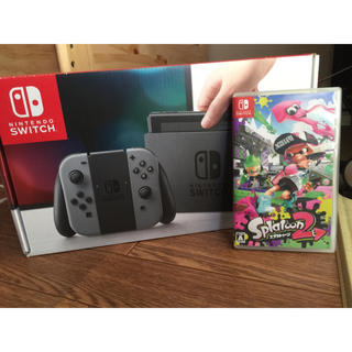 ニンテンドースイッチ(Nintendo Switch)のSwitch スプラトゥーン2(家庭用ゲーム本体)