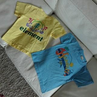 エレメント(ELEMENT)のelement  Hawaii ロゴ Tシャツ2枚セット(Tシャツ/カットソー)