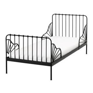 IKEA - ikea minnen 伸長式子供ベット ブラック