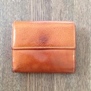 イルビゾンテ(IL BISONTE)のIL BISONTE イルビゾンテ 財布 コンパクト 折り財布 ヌメ革(財布)