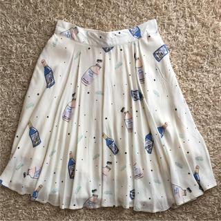 イチナナキュウダブルジー(179/WG)の179/WG  ニコル ♡ ボトル柄 スカート(ひざ丈スカート)
