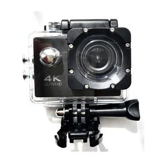 アクションカメラ スポーツカメラ 防水カメラ 4K Wi-Fi 予備バッテリー付(ビデオカメラ)