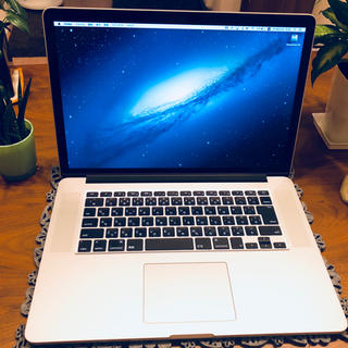 マック(Mac (Apple))の【極美品】MacBook Pro Retina 15インチ A1398(ノートPC)
