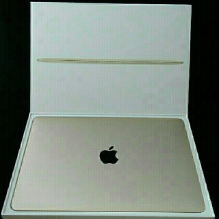 アップル(Apple)のMacBook (Retina, 12-inch, Early 2015)(ノートPC)