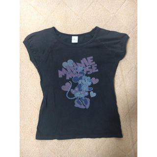 ジーユー(GU)のジーユー ミニーマウス 女の子Tシャツ 130cm(Tシャツ/カットソー)