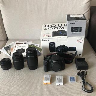 キヤノン(Canon)のCanon EOS kissx7i レンズ3本セット(デジタル一眼)