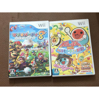 Wiiソフト マリオパーティ8 太鼓の達人みんなでパーティ3代目