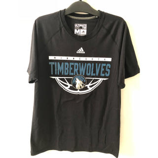 adidas - adidas NBA MN Thmberwolves Tシャツ