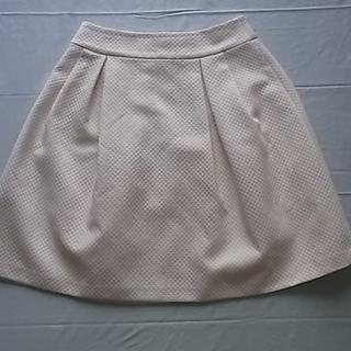 キャサリンロス(KATHARINE ROSS)のKatharine Ross キャサリンロス 白 スカート MA 9号 (ひざ丈スカート)