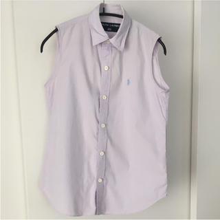 ポロラルフローレン(POLO RALPH LAUREN)のPOLO RALPHLAUREN ノースリーブシャツ(シャツ/ブラウス(半袖/袖なし))
