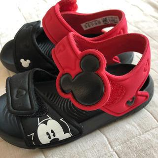 アディダス(adidas)のアディダス ミッキーサンダル 13センチ(サンダル)